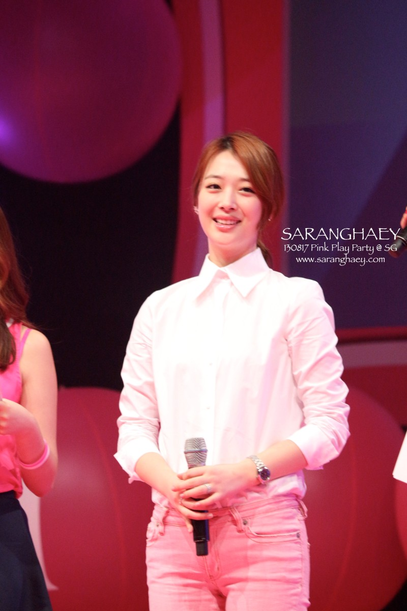 130827 Etude House Pink Play Party in Singapore - #Sulli