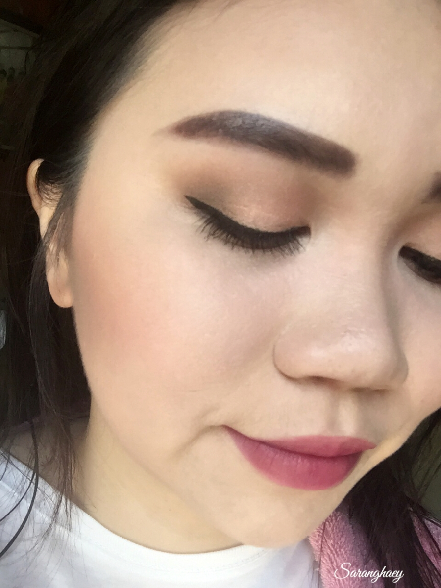 Four Everyday Autumn Inspired Look - Peach & Cranberry